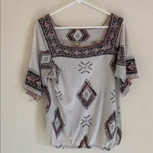 Tops - Square neck Lucky Brand Top